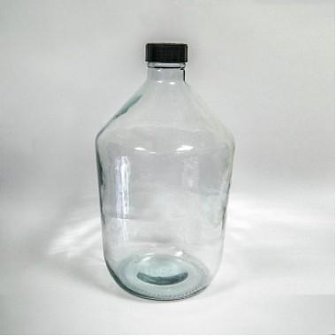 Бутыль 10 литров (прозрачный)