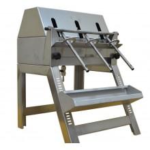 Разливочная машинка из нержавеющей стали (3 насадки)