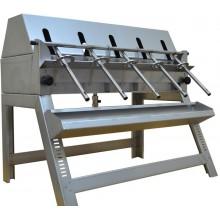 Разливочная машинка из нержавеющей стали (5 насадок)