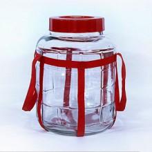 Бутыль банка (с гидрозатвором) 18 литров