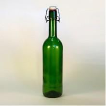 Бутылка бугельная (зеленая) 0,75