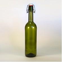 Бутылка бугельная (оливковая) 0,75