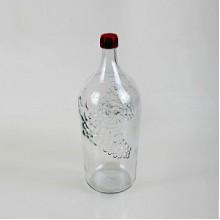 Бутылка винная прозрачная 2 л.