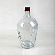 Бутылка винная прозрачная 4,5 л.